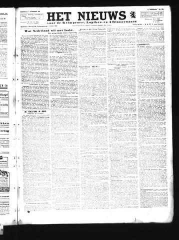 Schoonhovensche Courant 1945-11-07