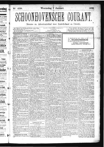 Schoonhovensche Courant 1920-01-07