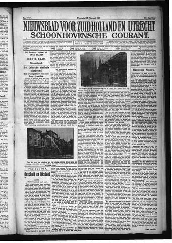 Schoonhovensche Courant 1929-02-13