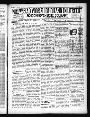 Schoonhovensche Courant 1937-10-15