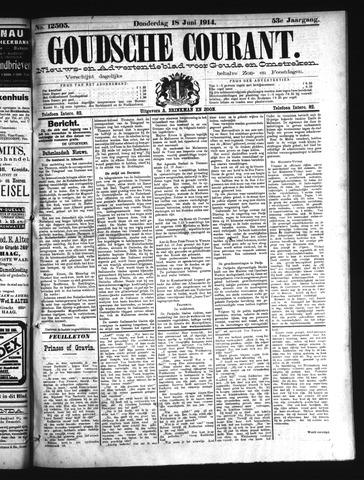 Goudsche Courant 1914-06-18