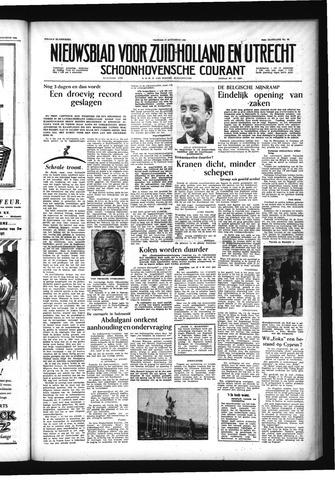 Schoonhovensche Courant 1956-08-17