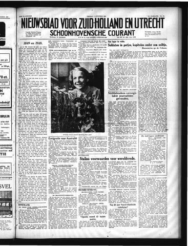 Schoonhovensche Courant 1949-08-05