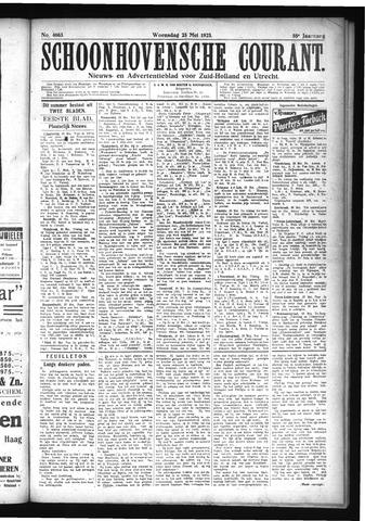 Schoonhovensche Courant 1923-05-23