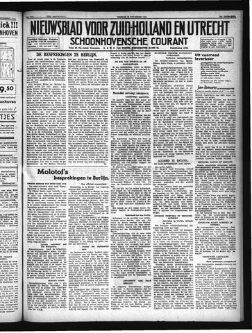 Schoonhovensche Courant 1940-11-15