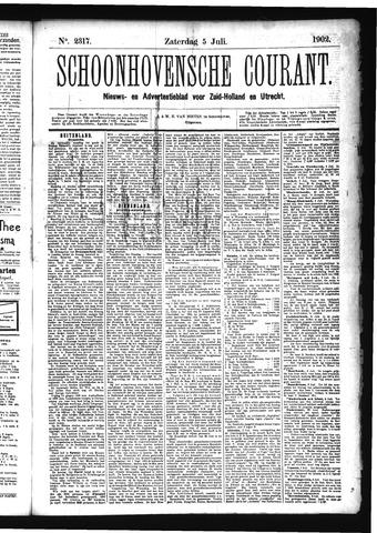 Schoonhovensche Courant 1902-07-05
