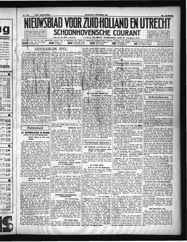 Schoonhovensche Courant 1936-11-09