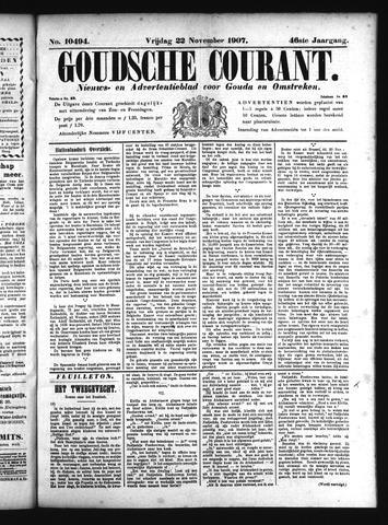 Goudsche Courant 1907-11-22