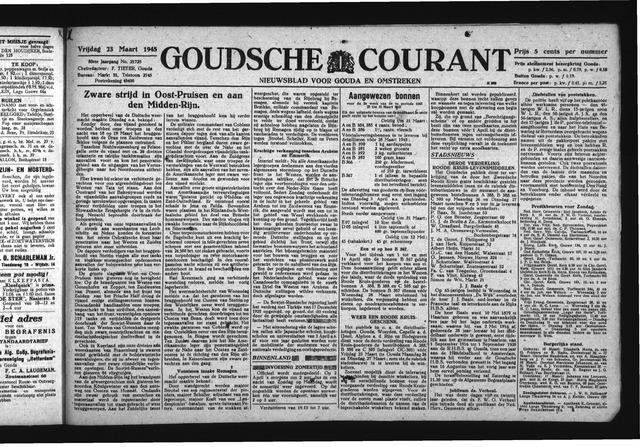 Goudsche Courant 1945-03-23