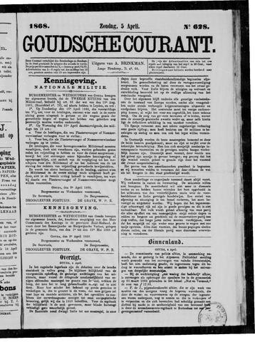 Goudsche Courant 1868-04-05