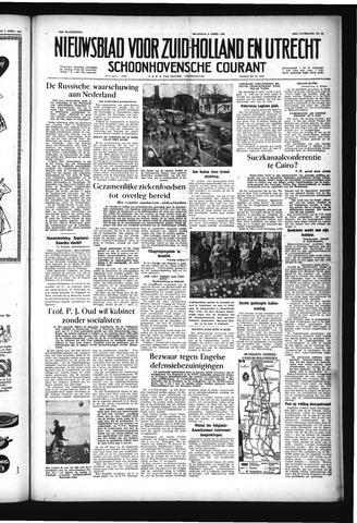 Schoonhovensche Courant 1957-04-08