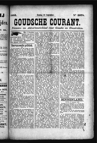 Goudsche Courant 1883-09-23