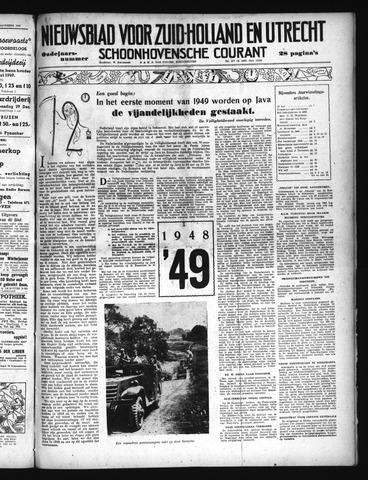 Schoonhovensche Courant 1948-12-31