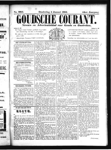 Goudsche Courant 1905-01-05