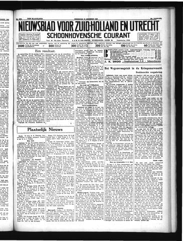 Schoonhovensche Courant 1934-12-12
