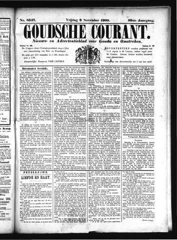 Goudsche Courant 1900-11-09