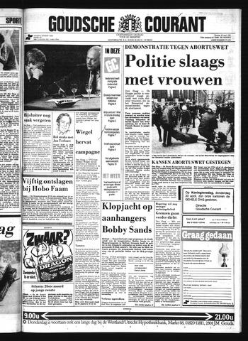 Goudsche Courant 1981-04-28