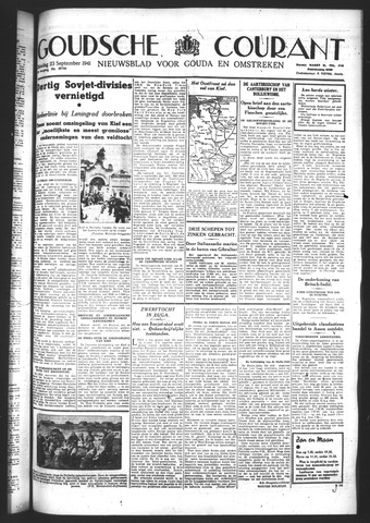Goudsche Courant 1941-09-23
