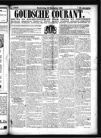 Goudsche Courant 1931-11-26