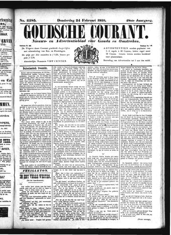 Goudsche Courant 1910-02-24