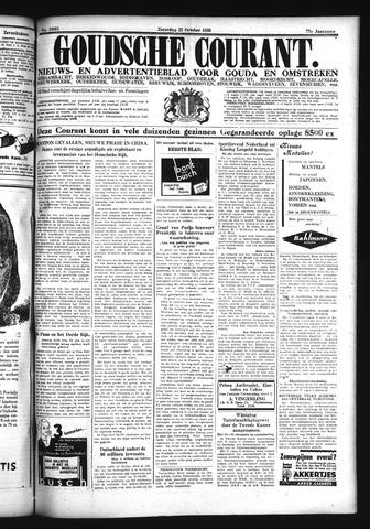 Goudsche Courant 1938-10-22