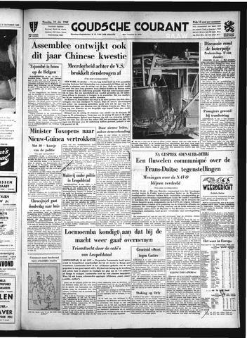 Goudsche Courant 1960-10-09