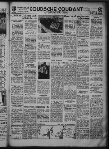 Goudsche Courant 1946-09-25
