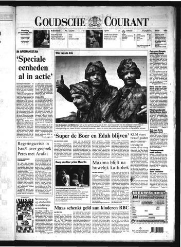 Goudsche Courant 2001-09-24