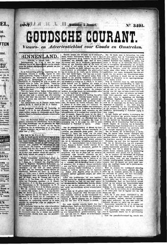 Goudsche Courant 1887-01-05