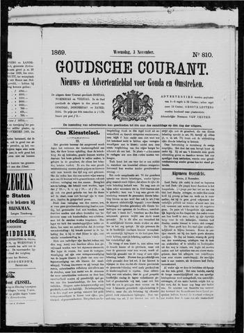 Goudsche Courant 1869-11-03
