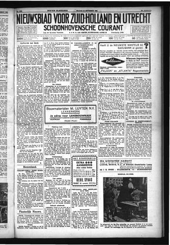 Schoonhovensche Courant 1932-09-30