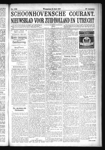 Schoonhovensche Courant 1927-06-23