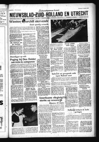 Schoonhovensche Courant 1965-01-18
