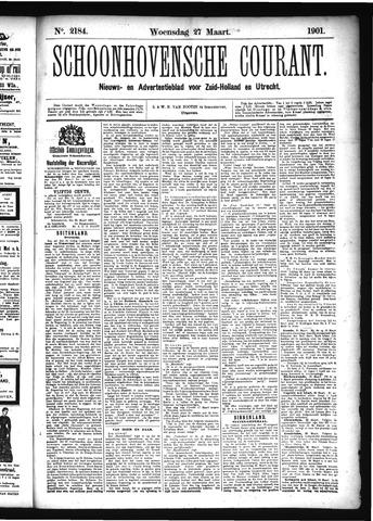 Schoonhovensche Courant 1901-03-27