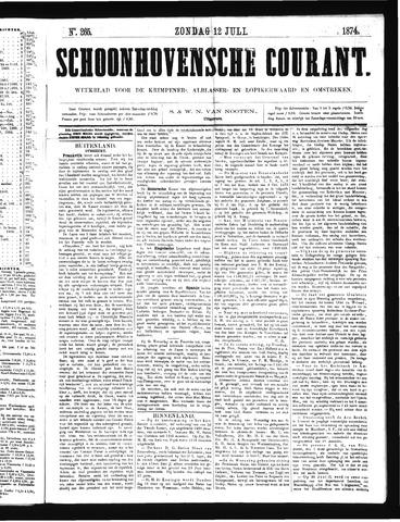 Schoonhovensche Courant 1874-07-12
