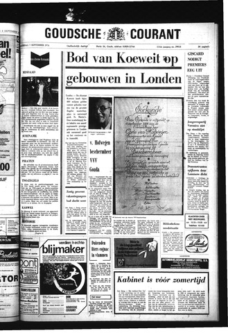 Goudsche Courant 1974-09-07
