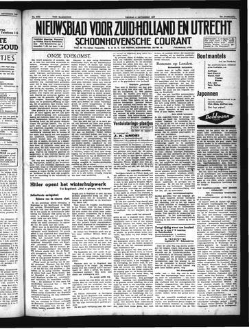 Schoonhovensche Courant 1940-09-06