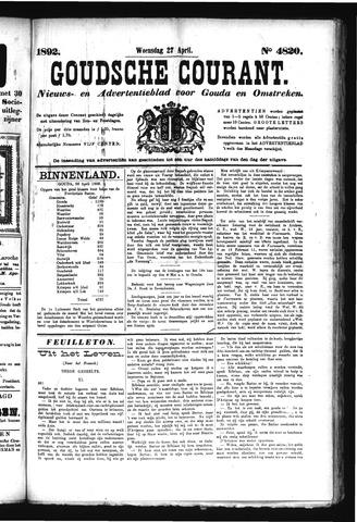 Goudsche Courant 1892-04-27