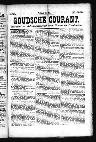 Goudsche Courant 1883-05-25