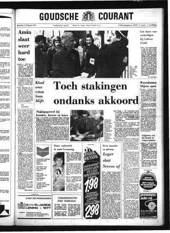 Goudsche Courant 1977-02-14