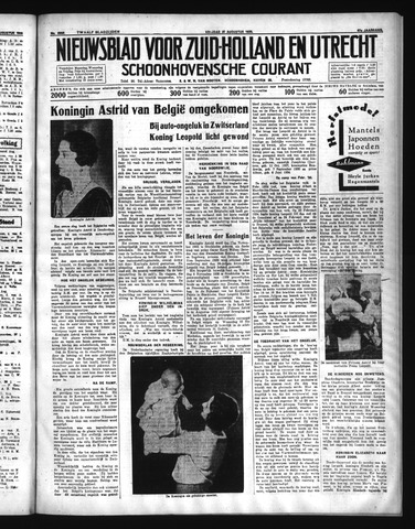 Schoonhovensche Courant 1935-08-30