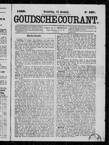 Goudsche Courant 1866-01-18