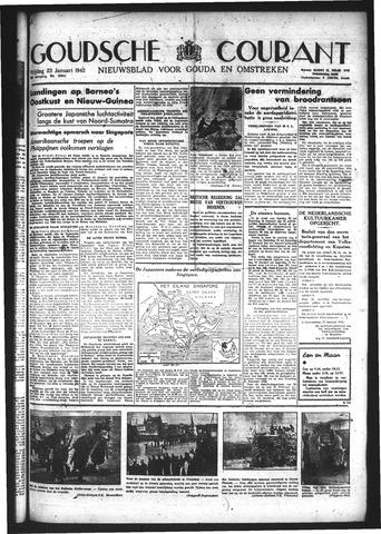 Goudsche Courant 1942-01-23