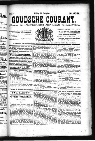 Goudsche Courant 1892-12-30