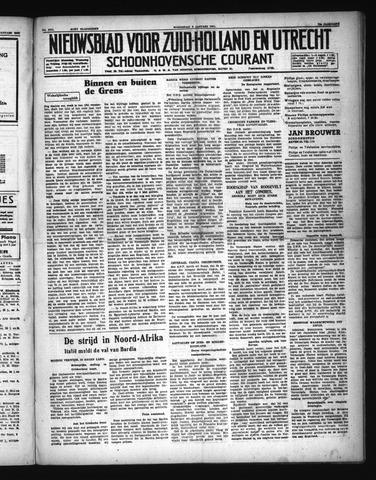 Schoonhovensche Courant 1941-01-08