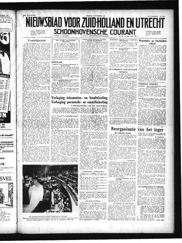 Schoonhovensche Courant 1949-09-23