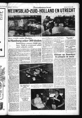 Schoonhovensche Courant 1962-02-19