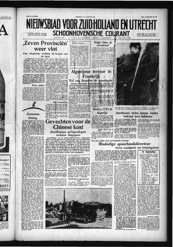 Schoonhovensche Courant 1958-08-27