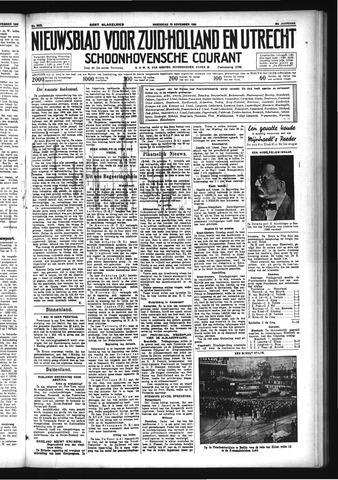 Schoonhovensche Courant 1933-11-15