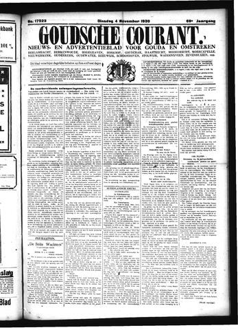 Goudsche Courant 1930-11-04